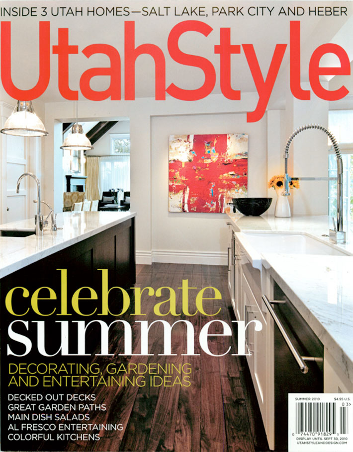 Utah Style And Design.Utah Style And Design Summer 2009
