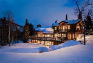 Ski-in-ski-out property in Park City Utah, at The Colony at White Pine Canyon.